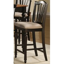 <strong>East West Furniture</strong> Chelsea Bar Stool with Cushion