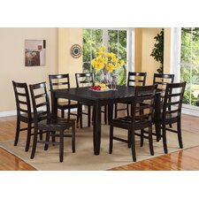Fairwinds 9 Piece Dining Set