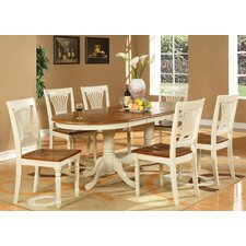 <strong>Wooden Importers</strong> Plainville 7 Piece Dining Set