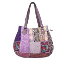 <strong>Divine Designs</strong> Khambadia Patchwork Tote Bag