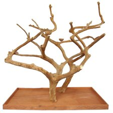 Double Java Wood Tree