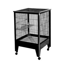 Medium 2 Level Small Animal Cage on Casters