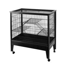 Large 3-Level Small Animal Cage