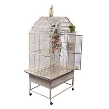 Large Victorian Top Bird Cage with Stand