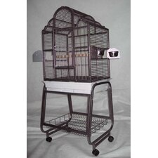 <strong>A&E Cage Co.</strong> Victorian Bird Cage with Plastic Base