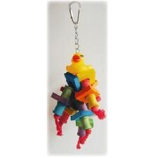 The Rubber Duck Monster Bird Toy