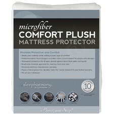 Comfort Memory Foam Plush Mattress Protector