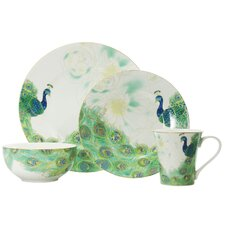 Lakshmi 16 Piece Dinnerware Set