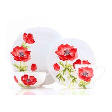 Anemone 16 Piece Dinnerware Set