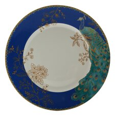 "Peacock Garden 13.75"" Dinner Plate (Set of 4)"