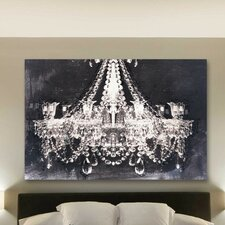 Dramatic Entrance Night Graphic Art on Canvas