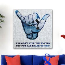 <strong>Oliver Gal</strong> Learn to Surf Canvas Wall Art