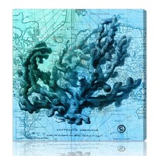 "<strong>Oliver Gal</strong> ""Oceana"" Painting Print on Canvas"