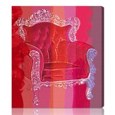"""Throne Love Affair"" Graphic Art on Canvas"