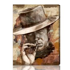 ''Cowboy'' Graphic Art on Canvas