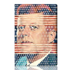 ''John F. Kennedy'' Graphic Art on Canvas