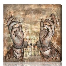 ''Criminal'' Graphic Art on Canvas