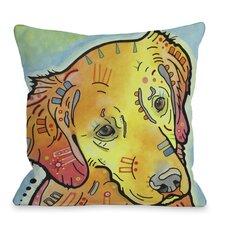 Doggy Décor The Goldenish Retriever Pillow