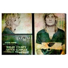''Ozzy Osbourne Mugshot'' Graphic Art on Canvas