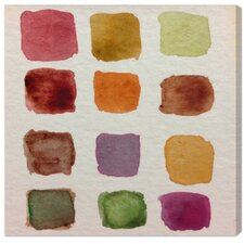 Fall Palette Painting Canvas Art