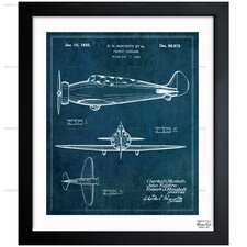 Pursuit Airplane 1933 Framed Graphic Art
