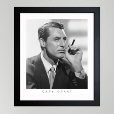 ''Cary Grant'' Framed Art Print