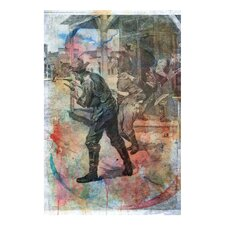''Coffeyville Bank Robbery'' Canvas Art Print