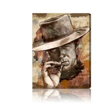''Cowboy'' Canvas Art Print