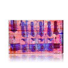 Cristal on Crystal Rose Graphic Art on Canvas