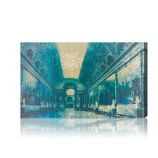 ''Gallery of Battles Versailles Blue'' Photographic Print on Canvas