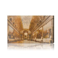 ''Gallery of Battles Versailles Yellow'' Photographic Print on Canvas