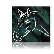 <strong>Oliver Gal</strong> ''Horse'' Canvas Wall Art