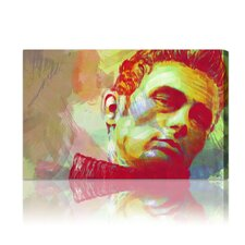 ''James Dean'' Graphic Art on Canvas