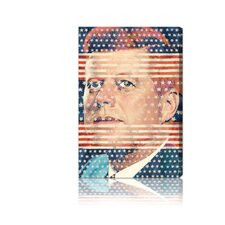 ''John F. Kennedy'' Canvas Art Print