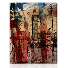 "<strong>Oliver Gal</strong> ""London in Red"" Canvas Art Print"