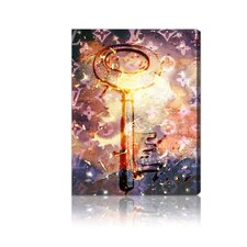 """Malletier Key"" Canvas Wall Art"