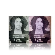 ''Prince Mugshot'' Canvas Art Print