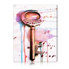 "<strong>Oliver Gal</strong> ""The Key"" Canvas Wall Art"