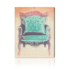 <strong>Oliver Gal</strong> The Throne Canvas Wall Art
