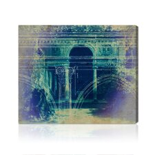 """Villa Lante"" Canvas Art Print"