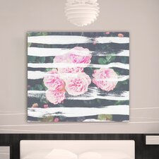 """Blooming Strokes"" Canvas Art Print"