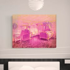 ''Marie Antoinette Chambers'' Canvas Wall Art