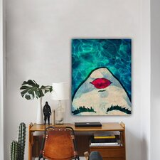 ''Watercoveted'' Painting Print on Canvas