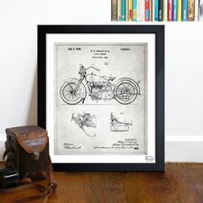 Harley 1928 Framed Art
