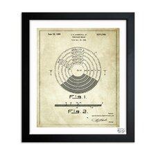 Vinyl Record 1948 Framed Graphic Art