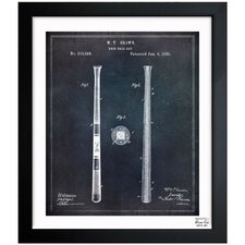 Baseball Bat 1885 Framed Graphic Art