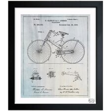 Bicycle 1890 Framed Graphic Art