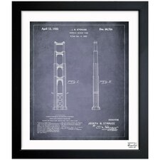 Golden Gate Bridge 1932 Framed Graphic Art