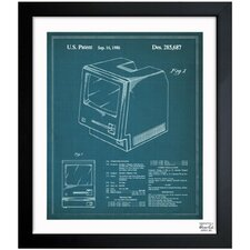 <strong>Oliver Gal</strong> Apple Macintosh 128K 1986 Framed Art