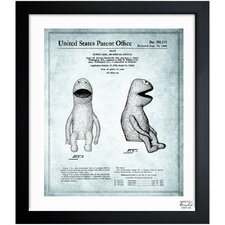 Jim Henson Puppet Doll II 1958 Framed Graphic Art